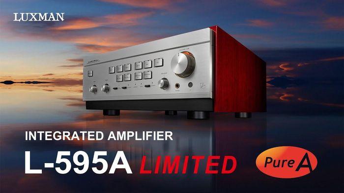 Ampli Luxman L-595A Limited sắp về Việt Nam, audiophiles mong chờ vì thế giới chỉ có 300 chiếc