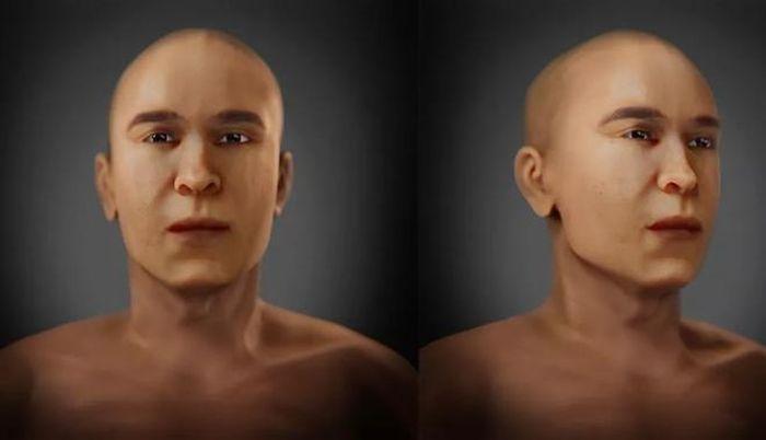 Bất ngờ trước gương mặt phục dựng của vị Pharaoh chết cách đây gần 3.500 năm