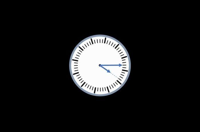 Bài toán đoán thời gian làm khó người giải