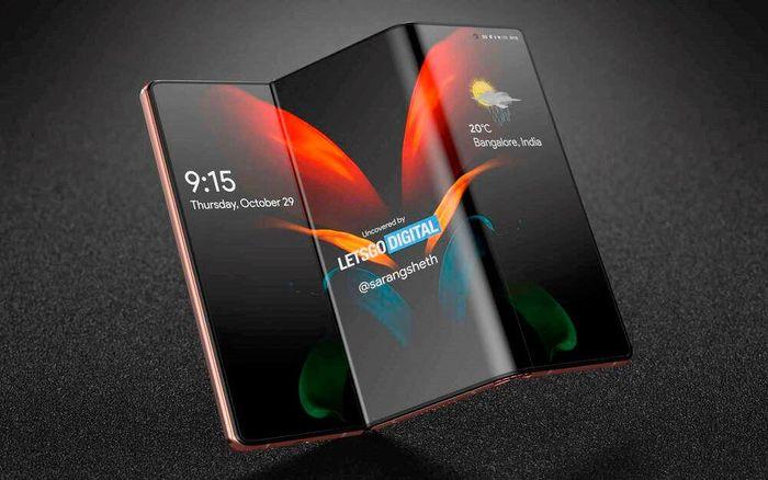 Samsung đang phát triển smartphone gập 2 lần, có thể sẽ ra mắt trong năn 2021