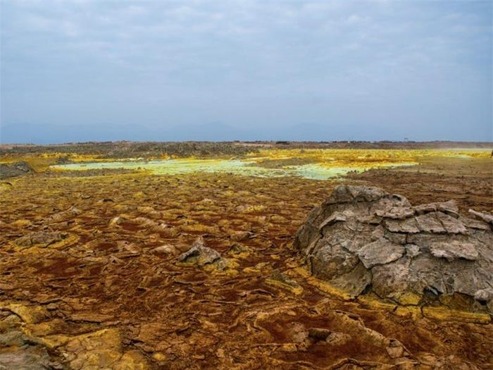 Những nơi khắc nghiệt nhất 'như hành tinh khác' trên Trái Đất