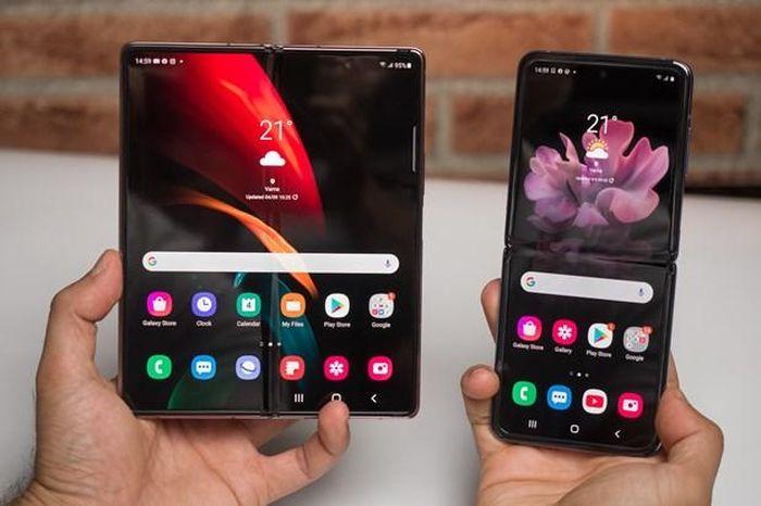 Samsung Electronics hạ giá bán mẫu điện thoại gập Galaxy Z Fold2
