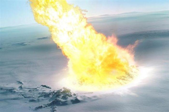Phát hiện trên đỉnh núi tiết lộ vụ nổ khủng khiếp trên bầu trời Nam Cực