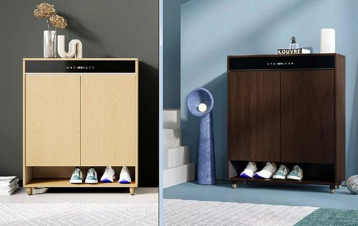 Tủ giày Xiaomi có thể tự sấy, khử mùi, điều khiển giọng nói