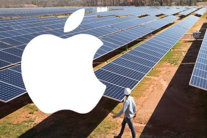 Apple đẩy mạnh sử dụng năng lượng tái tạo vào sản xuất