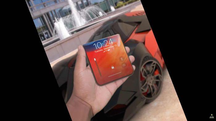 Thiết kế iPhone 13 màn hình gập và trượt