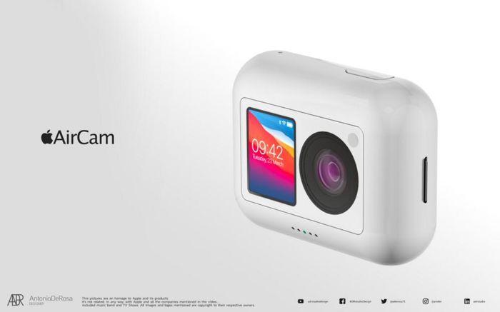Cận cảnh máy ảnh tí hon 'cute lạc lối' AirCam của Apple