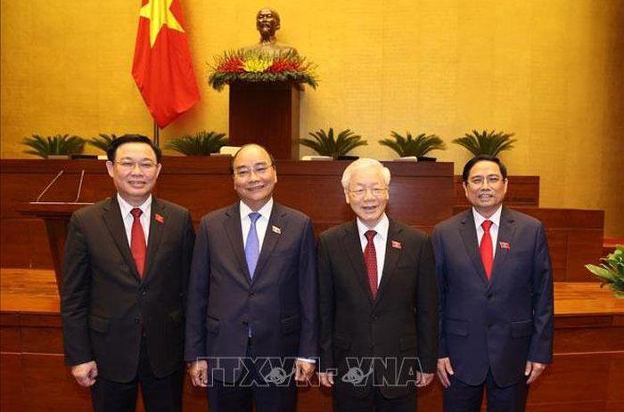 Lãnh đạo các nước gửi thư, điện chúc mừng lãnh đạo nước ta