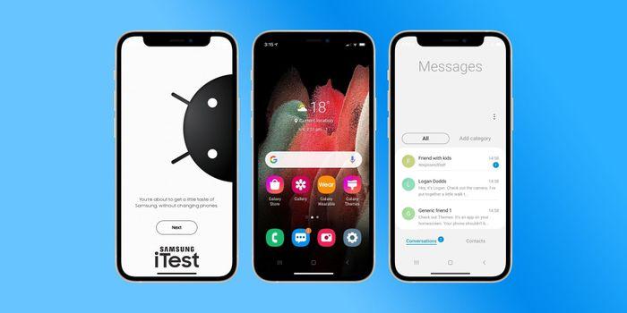 Dùng thử điện thoại Samsung ngay trên iPhone