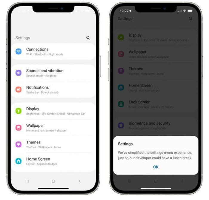 Samsung tung công cụ cho phép dùng thử Android trên iPhone