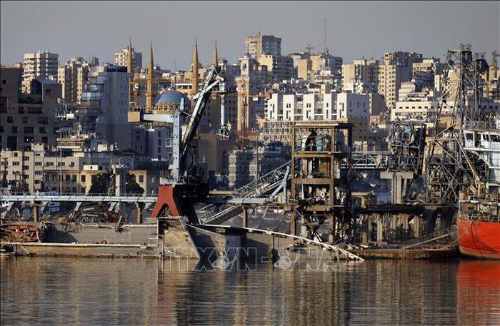 Liban: Công ty Đức công bố kế hoạch tái thiết cảng Beirut sau vụ nổ kinh hoàng