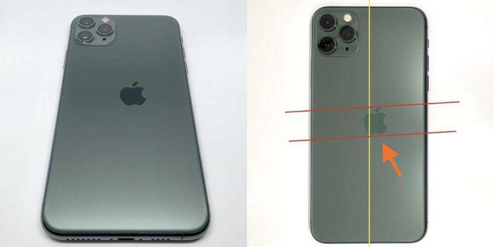 IPhone 11 Pro bị lệch logo được rao bán với giá khổng lồ, tỉ lệ xảy ra vô cùng hiếm