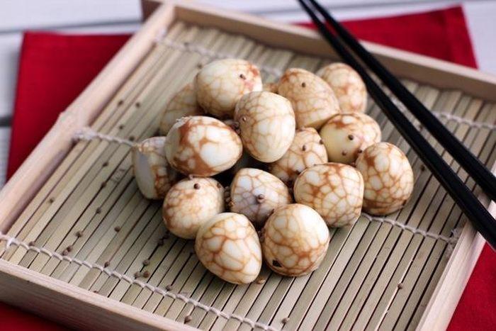 Trà trứng - Món ăn truyền thống mang hương vị tinh tế, riêng biệt của ẩm thực Trung Hoa
