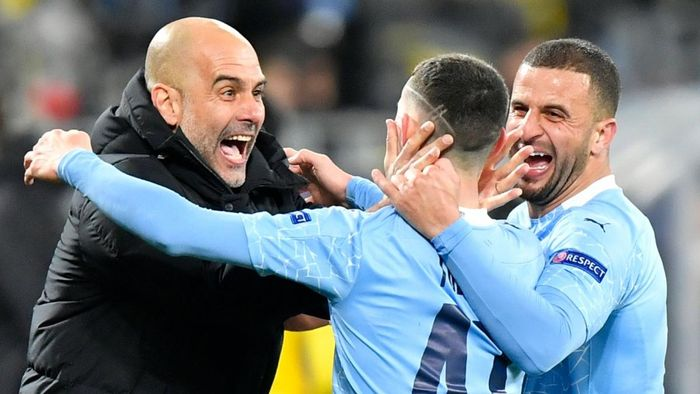 Pep Guardiola: 'Man City đang làm nên lịch sử ở Champions League' - Báo VOV