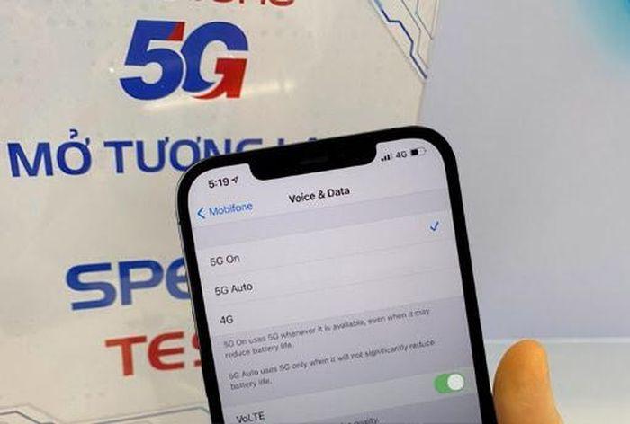 Apple mở 5G phiên bản chính thức cho mạng MobiFone