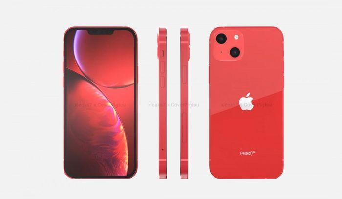 Apple iPhone 13 tinh tế với biến thể 'Red'