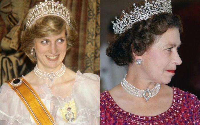 Công nương Kate đeo vòng của mẹ chồng quá cố tới lễ tang Hoàng thân Philip