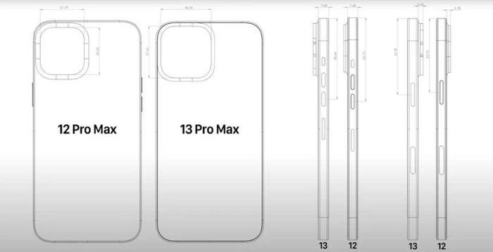 IPhone 13 Mini và iPhone 13 Pro Max: Camera khủng, cảm biến lớn hơn