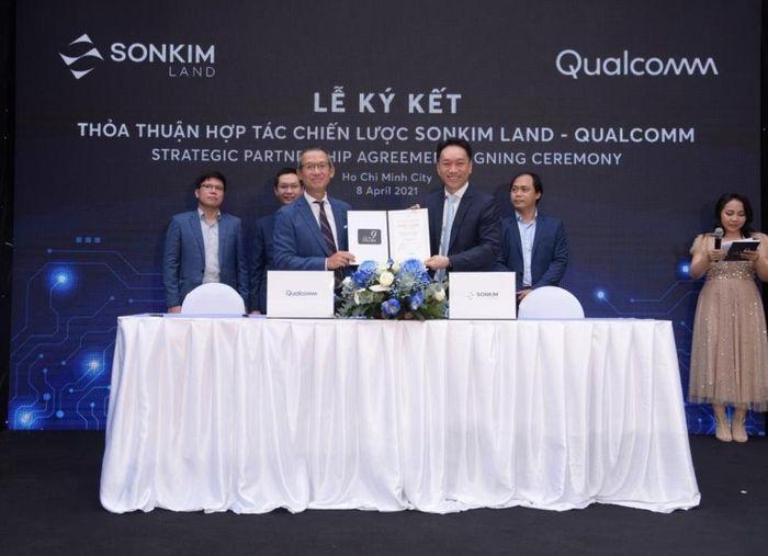 SonKim Land, Qualcomm Technologies và Infinite hợp tác thành phố thông minh IoT tại Việt Nam