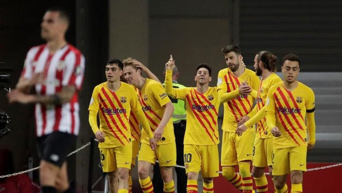 Barca vô địch Cúp Nhà vua, Messi phá liền hai kỷ lục