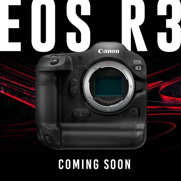 Canon máy ảnh không gương lật full-frame EOS R3 sẽ đáp ứng nhu cầu người dùng chuyên nghiệp