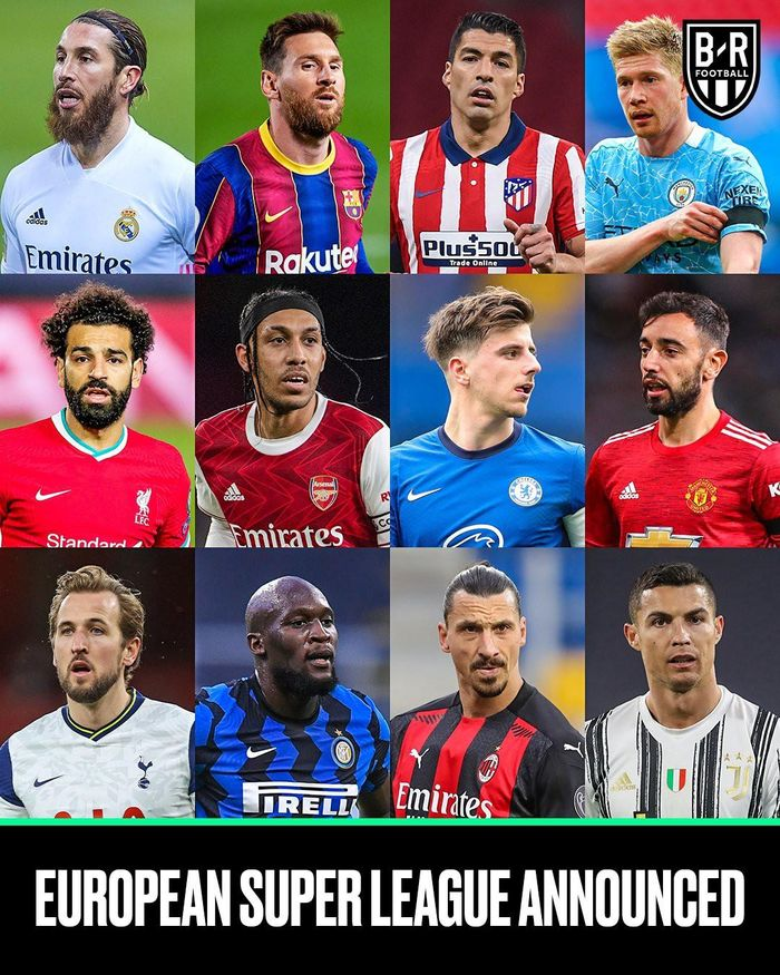 Ảnh chế: Hít hà drama 'European Super League', Sir Alex lên tiếng, nhà tiên tri Wenger