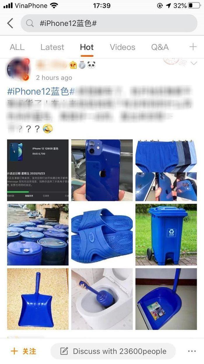 IPhone 12 màu tím leo lên bảng hot search Weibo, dân xứ Trung mê mẩn không kém gì ai!
