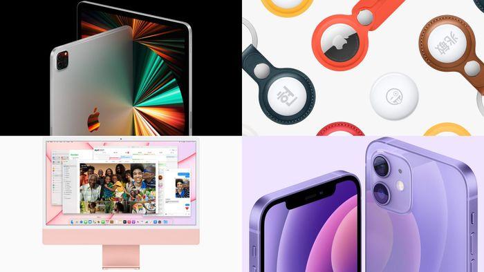 IPad Pro, iMac mới, AirTag, Apple TV 4K đã có giá chính hãng tại Việt Nam