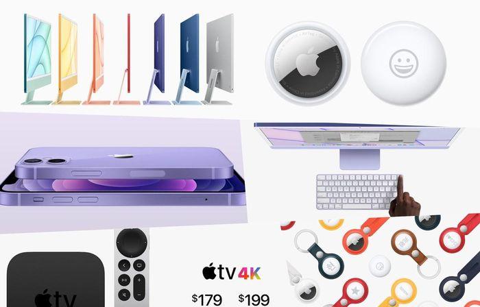 'Điểm danh' những sản phẩm Apple đã giới thiệu vào rạng sáng 21/4