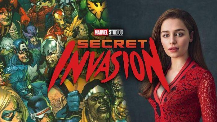 Mẹ rồng Emilia Clarke gia nhập MCU với Secret Invasion, sát cánh cùng Nick Fury