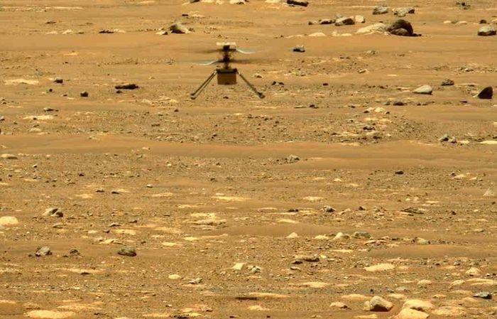 Trực thăng sao Hỏa bay cao và lâu hơn trong lần cất cánh thứ hai