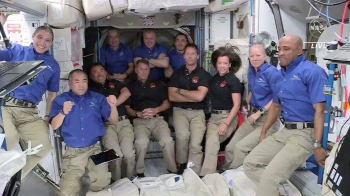 Trạm vũ trụ đang có dân số đông nhất trong một thập kỷ