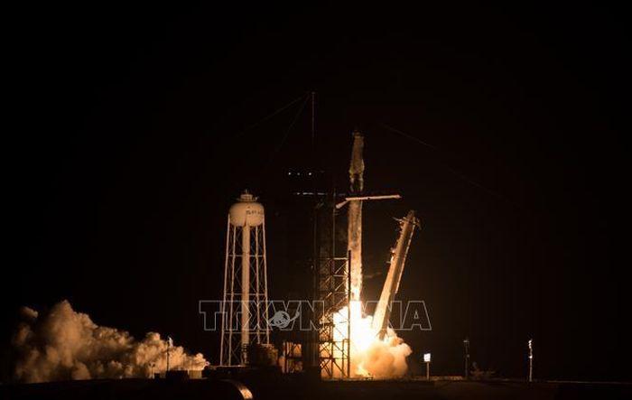 SpaceX đưa 4 phi hành gia lên trạm ISS