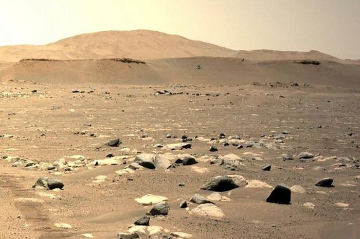 Trực thăng của NASA bay xa kỷ lục trên Sao Hỏa