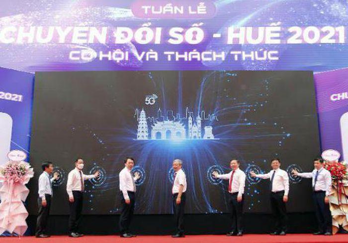 Khai trương mạng 5G Viettel tại Thừa Thiên Huế
