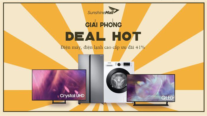 Mừng đại lễ, Sunshine Mall tung 'deal khủng' lên tới hơn 10 triệu đồng