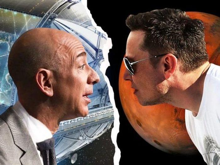 'Cuộc chiến' không hồi kết giữa Elon Musk và Jeff Bezos