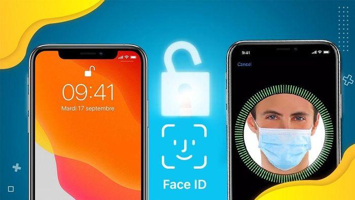 Apple cho phép mở khóa iPhone bằng Face ID cả khi đeo khẩu trang
