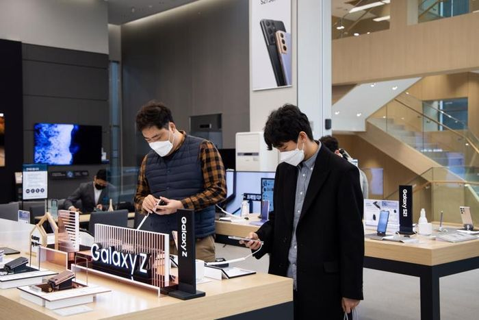 Samsung lãi lớn nhờ bùng nổ nhu cầu đồ điện tử