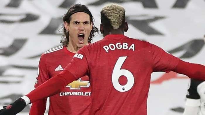HLV M.U hé lộ tương lai của Cavani và Pogba trước trận derby nước Anh