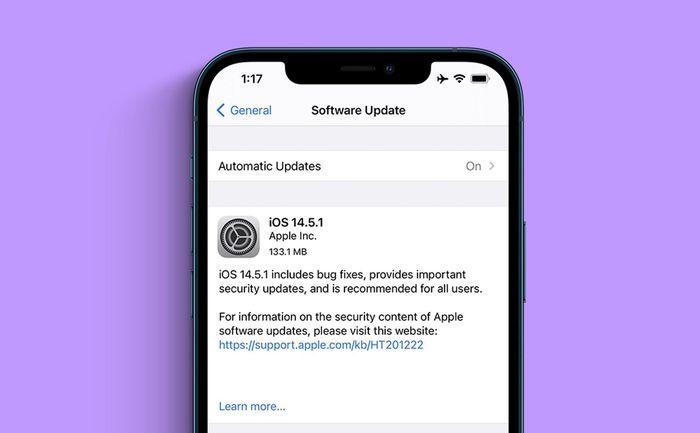 Cập nhật iOS 14.5.1 ngay lập tức để tránh bị tấn công