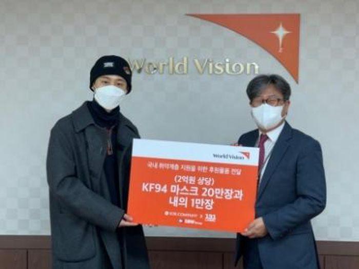 Cựu trưởng nhóm iKON tích cực làm từ thiện sau loạt bê bối