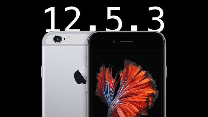 Người dùng iPhone đời cũ nên cập nhật iOS 12.5.3 ngay lập tức