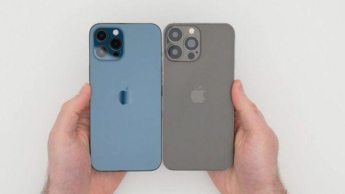 Đây là nguyên mẫu iPhone 13 Pro Max: tai thỏ nhỏ hơn, camera siêu to