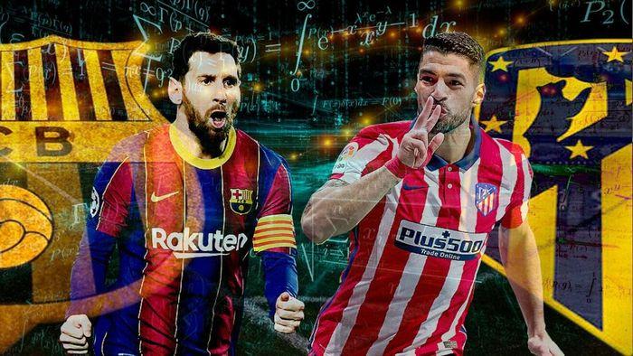 Barca vs Atletico Madrid: Trận chiến '6 điểm' quyết định ngôi vương