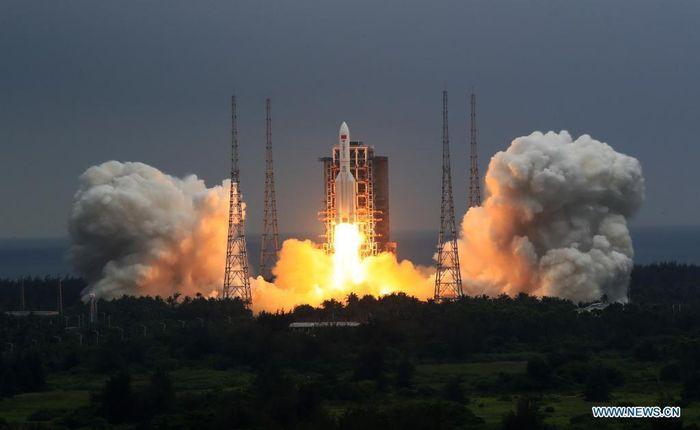 Mảnh vỡ tên lửa Trung Quốc rơi gần Maldives: NASA chỉ trích Bắc Kinh