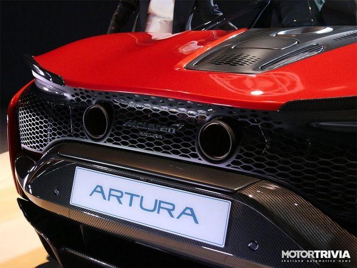 Ngắm siêu xe McLaren Artura PHEV giá hơn 535.000 USD tại Thái Lan