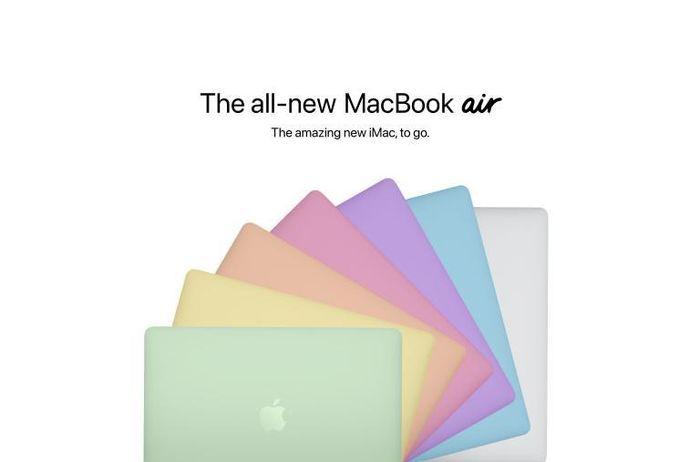 MacBook Air sẽ có tới 7 tùy chon màu