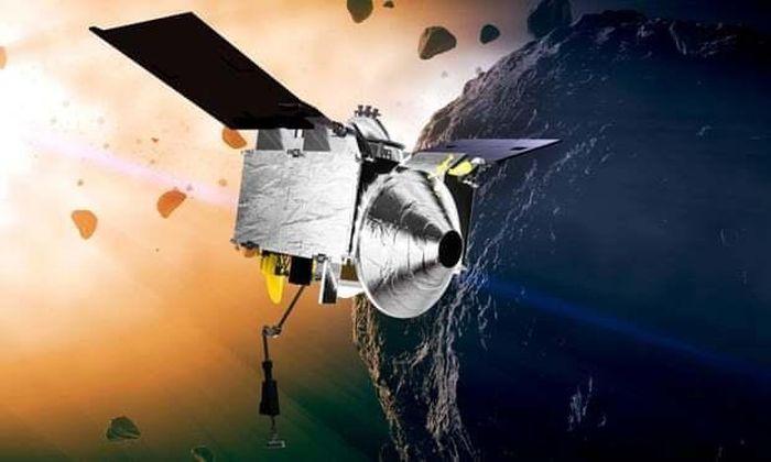 'Hút máu' thành công tiểu hành tinh, tàu vũ trụ vác 'bụng bầu' trở về Trái đất