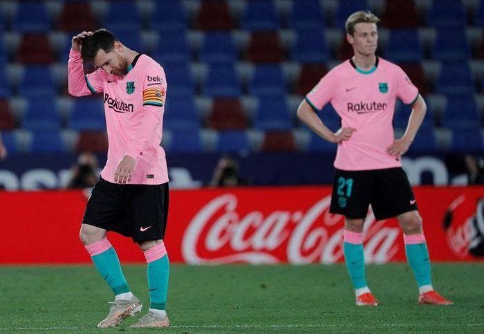 Sao Barcelona 'giương cờ trắng' sau trận hòa thất vọng